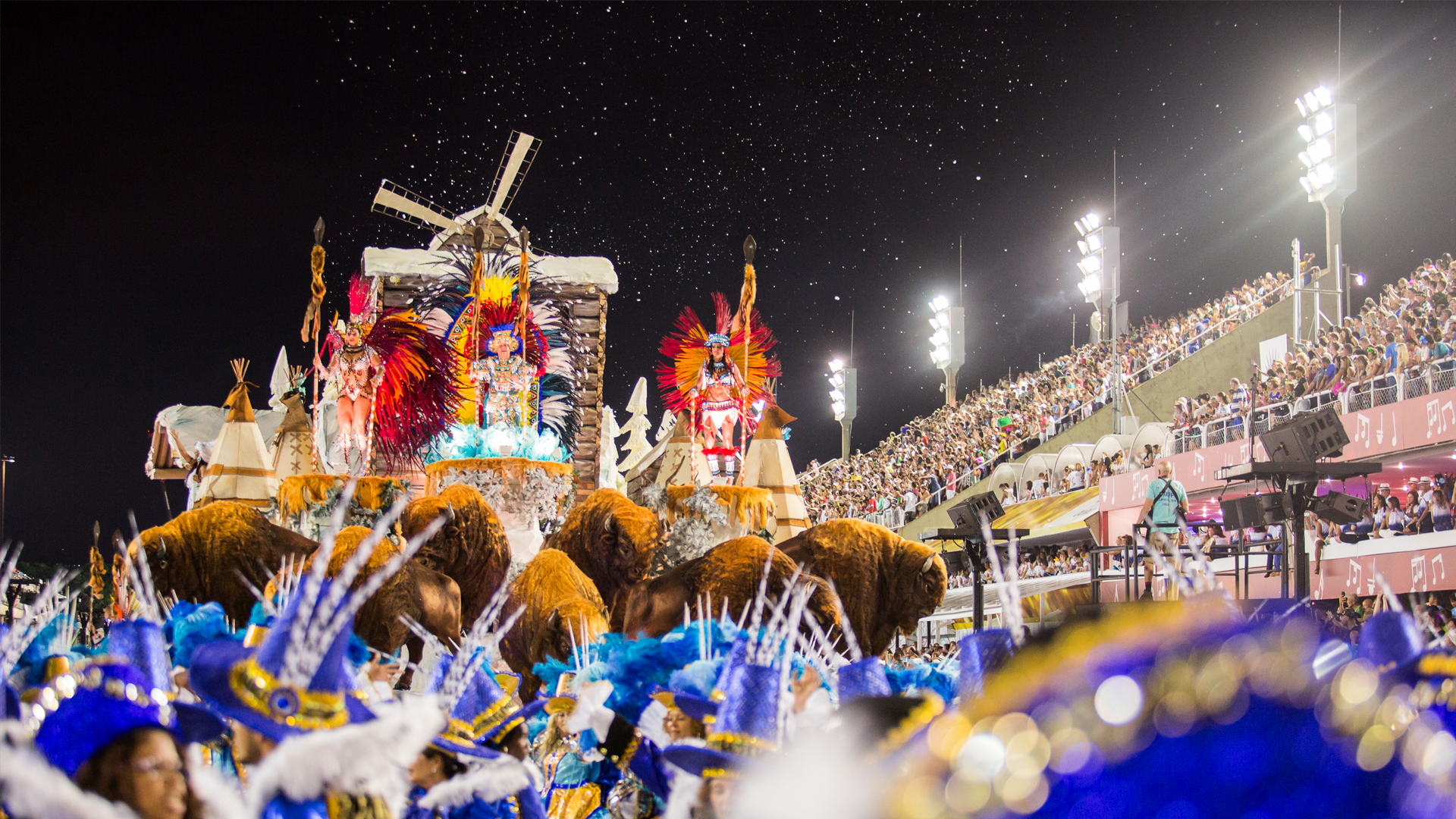 Samba Schools, an Integral part of Rio's Carnival