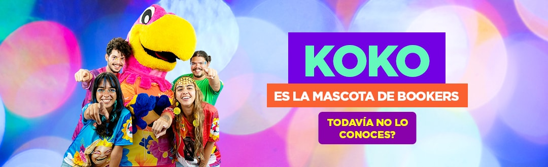 Koko es la Mascota de Bookers