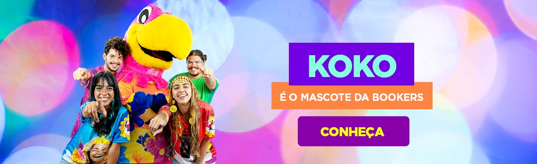 Koko é o Mascote da Bookers