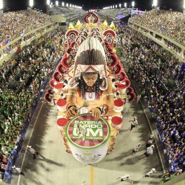 Écoles de samba au carnaval de Rio 2022