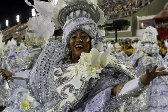 Experience Different Samba School Elements such as Dance, Costumes, Floats, Music and More.