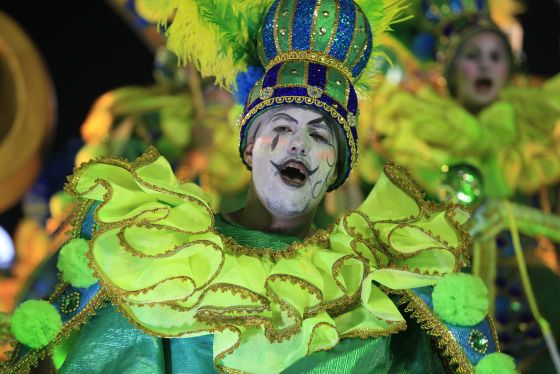 Looking for an Inexpensive Samba Parade? Watch the Access Group parade.