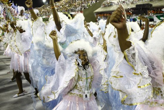 Watch Each Samba School Proudly Dislay their Moves, Dances, Songs and Costumes.