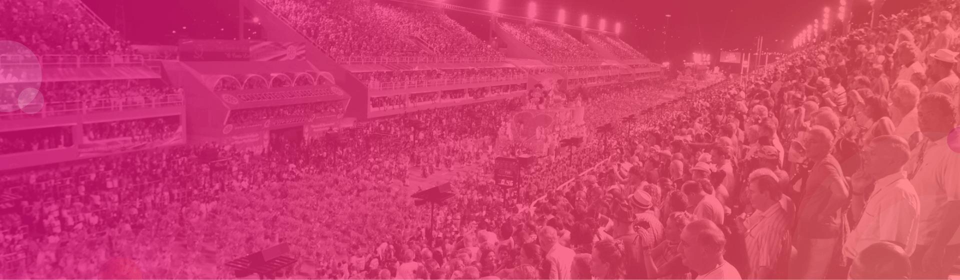 Festeggiamenti per il Carnevale di Rio