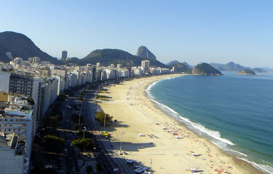 Copacabana is a Dynamic Meeting Point for Tourists and Locals, the Visit will Leave Truly Memorable Traces in Your Mind
