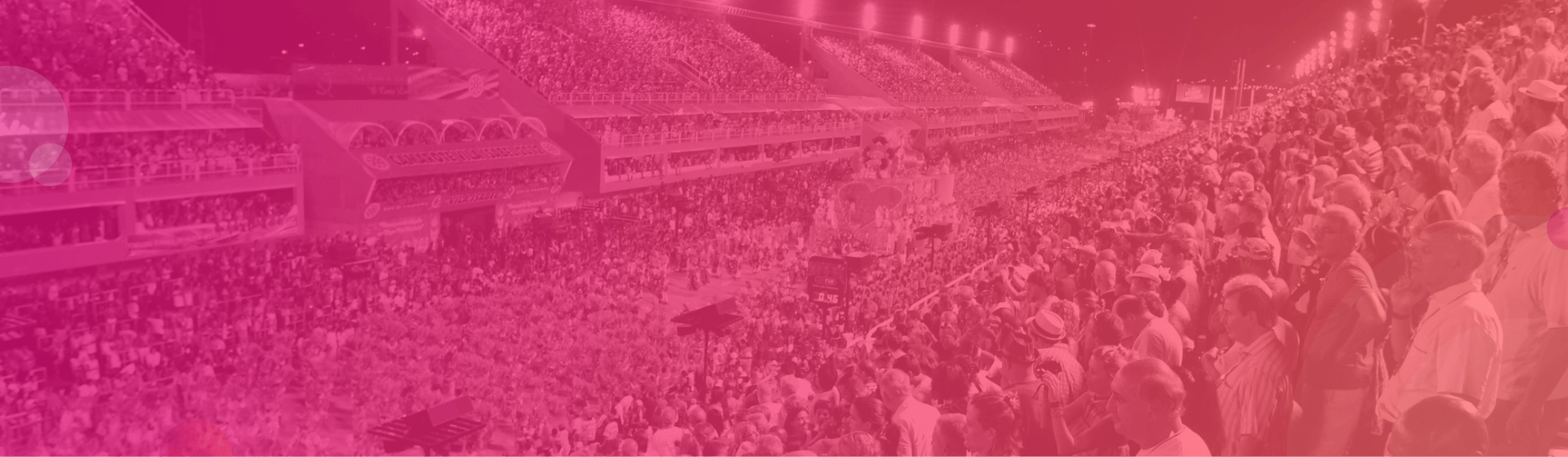 Tickets für den Sambaumzug beim brasilianischen Karneval.