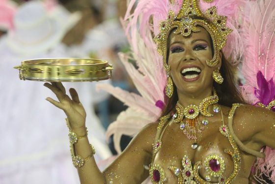 Prepare to Parade so Your Samba School Comes Out on Top.