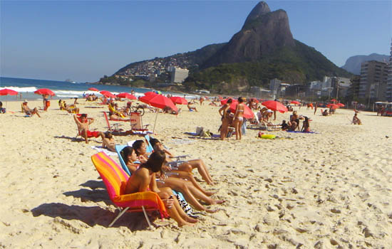 Leblon Beach is the Ideal Family-Oriented Destination for Some Safe Fun.