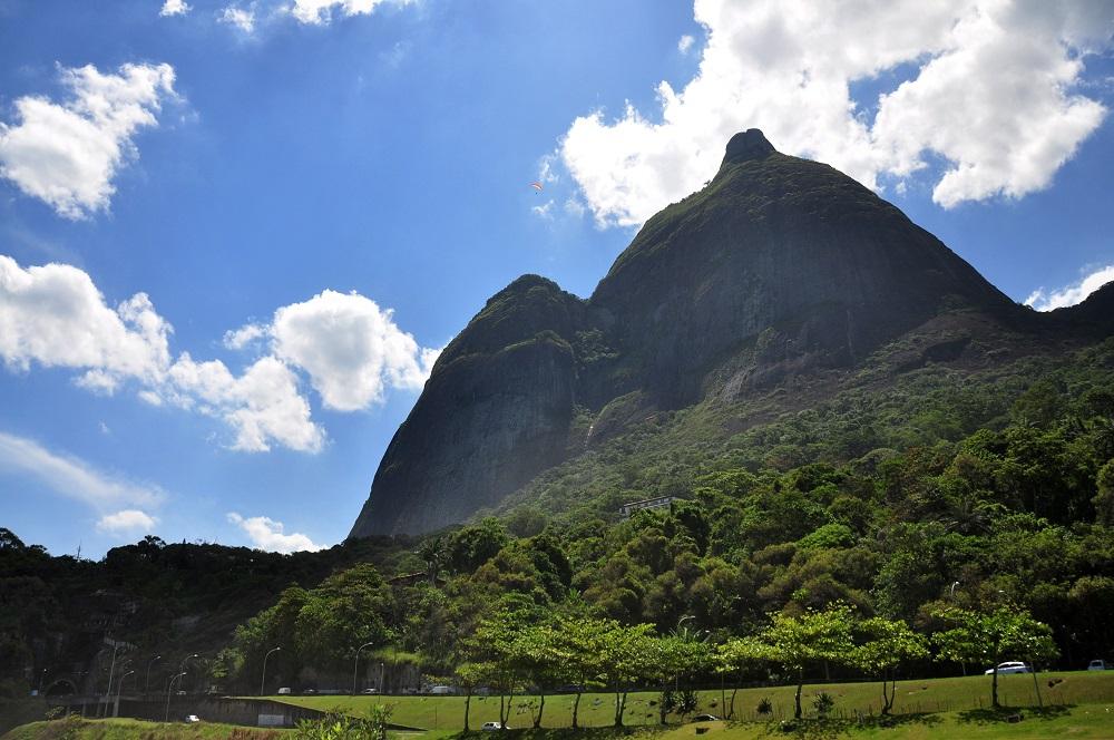 Pedra Bonita view from São Conrado