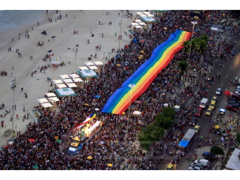 Gay Parade in Rio