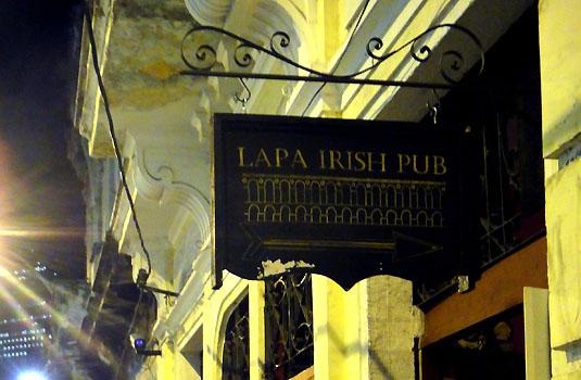 Lapa Irish Pub in Lapa Rio de Janeiro