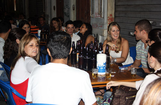 Bars and restaurants in Lapa