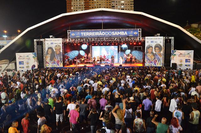 Terreirão do Samba en Rio de Janeiro