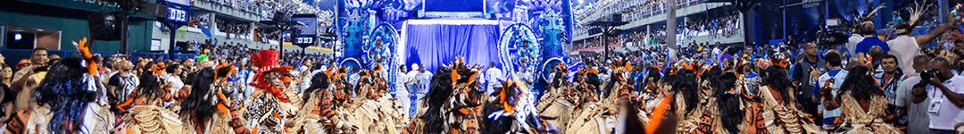 Os Desfiles das Escolas de Samba no Rio de Janeiro