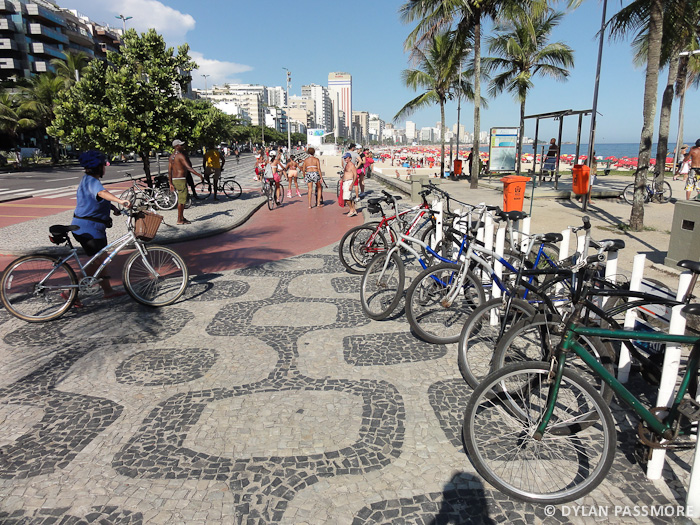 Rio - Bike Rack at Leblon Beach