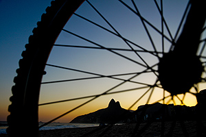 Biking in Rio