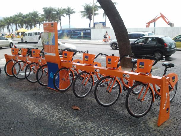 Bike Rio - Copacabana Station