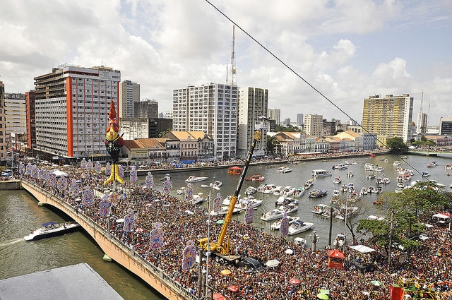 Street Parties during Carnival in Recife