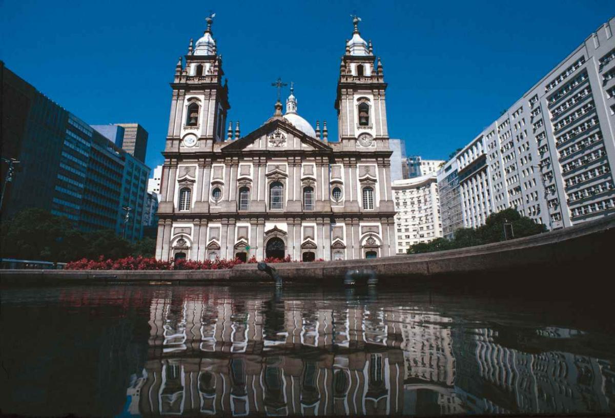 Candelaria church - downtown Rio de Janeiro