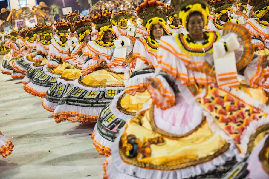 Bahianas en el Carnaval de Rio