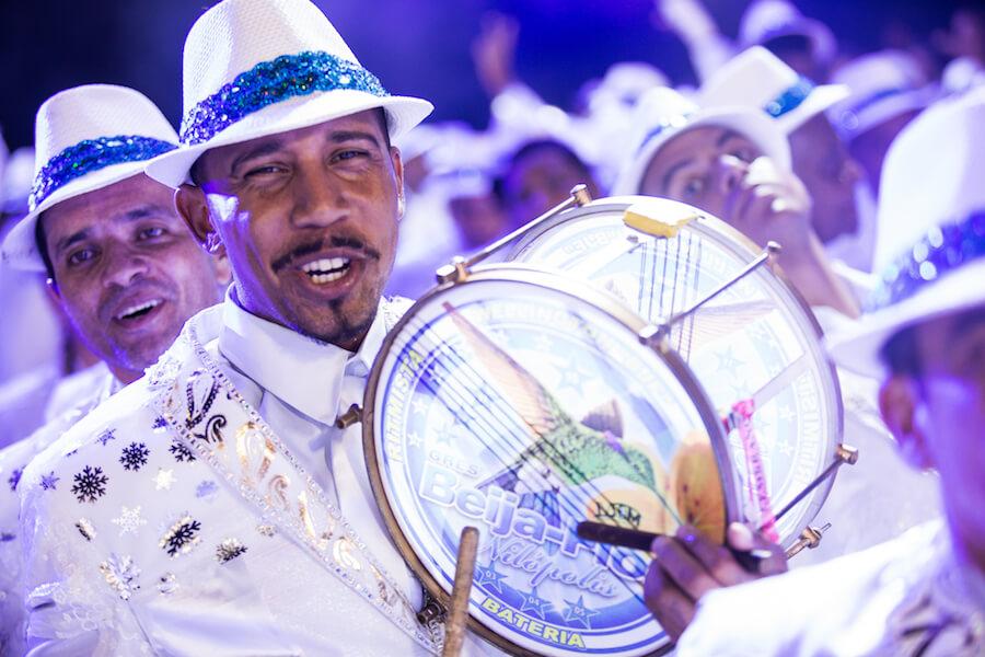 Musicos en el Carnaval de Rio