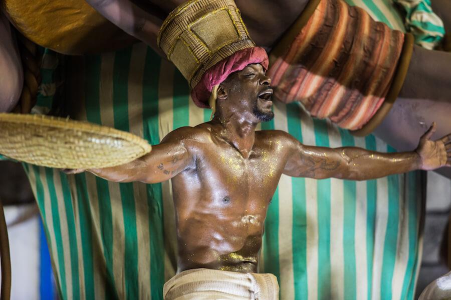 Bailarines en el Carnaval de Rio