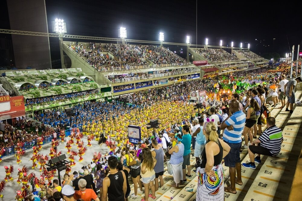 Grandstands or Arquibancadas