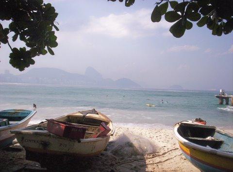 Fishermen's Corner - Copacabana - Rio de Janeiro