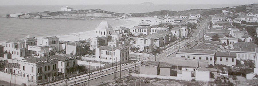 Old photo of Copacabana - Rio de Janeiro