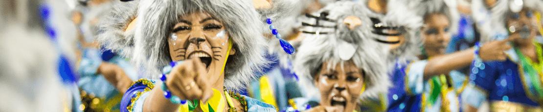 Desfile de Campeonas del Carnaval de Rio de Janeiro 2022