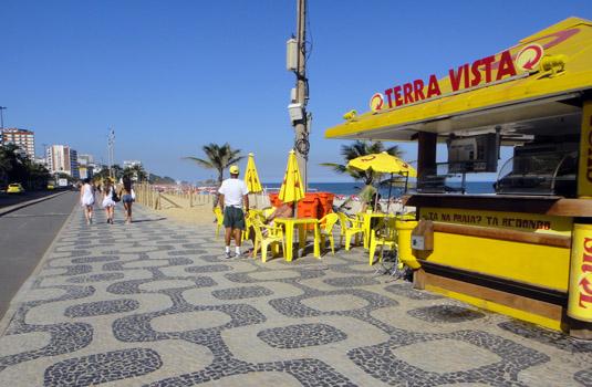 Local Kiosks by the beach