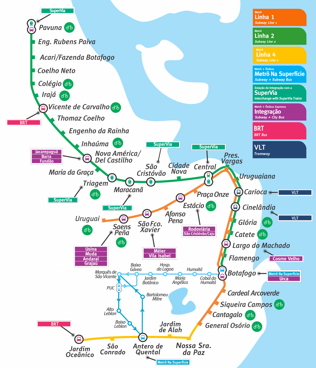 Subway Map Holiday.Subway In Rio
