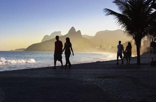 Arpoador in Rio de Janeiro