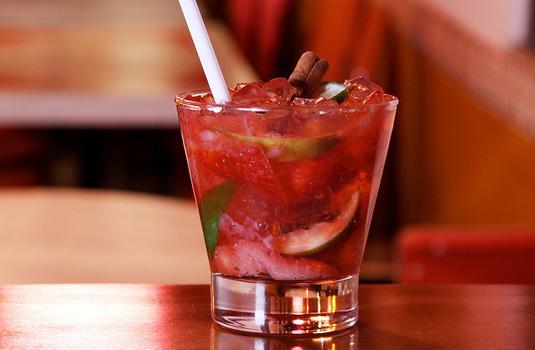 Strawberry Caipirinha - Bars and Restaurants in Rio