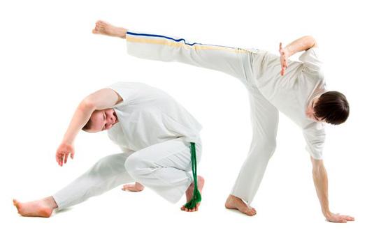 Capoeira classes in Rio de Janeiro Brazil