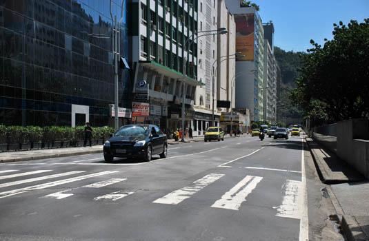 Leme - Copacabana streets