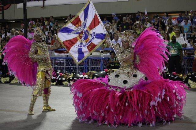 Uniao da Ilha samba school - Carnival parade in Rio