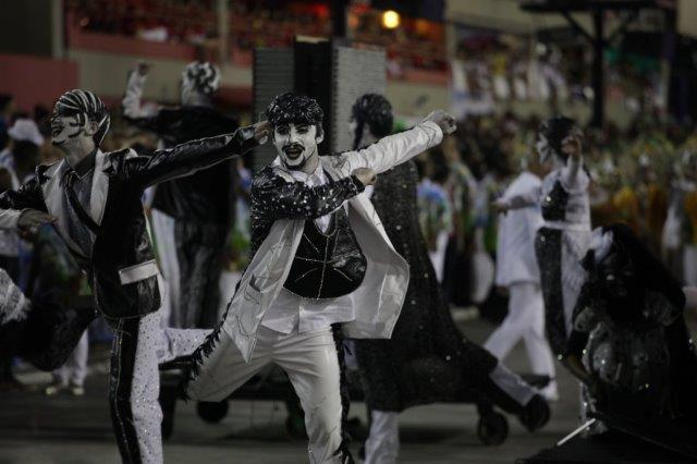 Rio Carnival floor costume