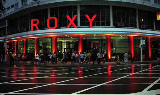 Roxy Movie Theater in Rio de Janeiro