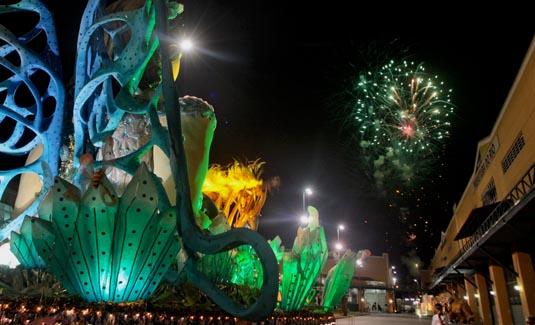 City of samba during carnival