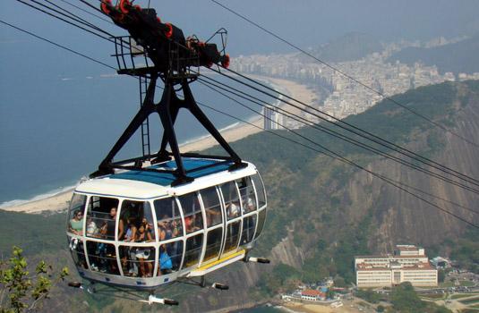 Bondinho or Sugar loaf tour in Rio de Janeiro