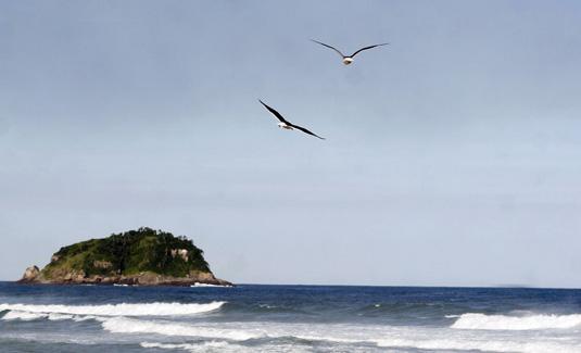 Grumari Beach in Rio de Janeiro Brazil