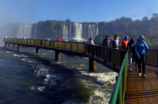 Brazilian side - Iguazu Falls