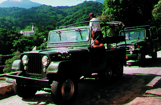 Jeep tour during the Day in Rio de Janeiro