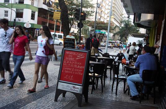Bars and restaurants around the city