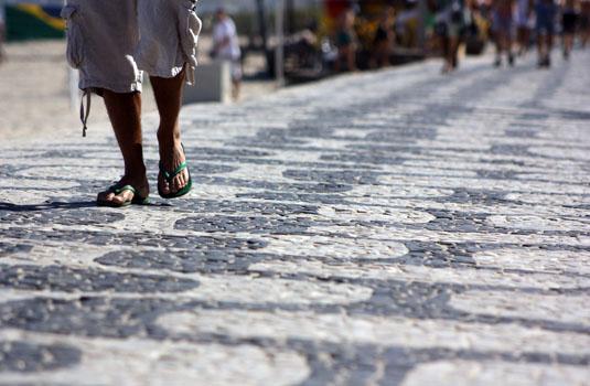 Like a native - Beach walk in Ipanema