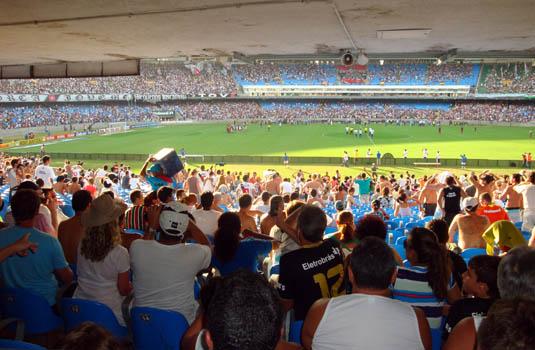 Maracana soccer match