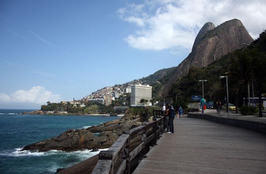 Mirante do Leblon  in Rio de Janeiro Brazil