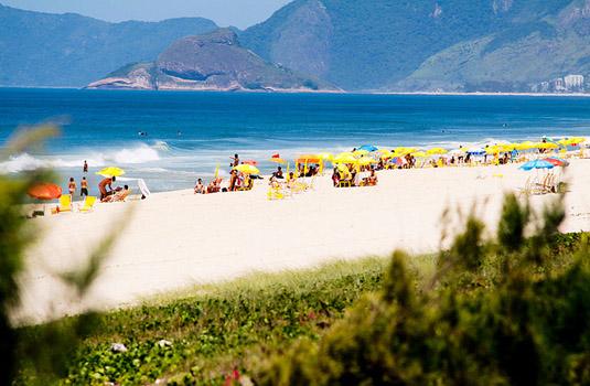 Reserva beach in Rio de Janeiro Brazil