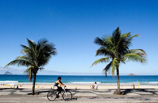 São Conrado Beach in Rio de Janeiro Brazil